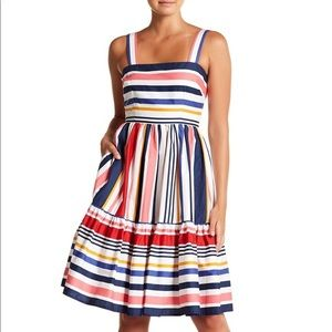 Vince Camuto Casual Striped Dress
